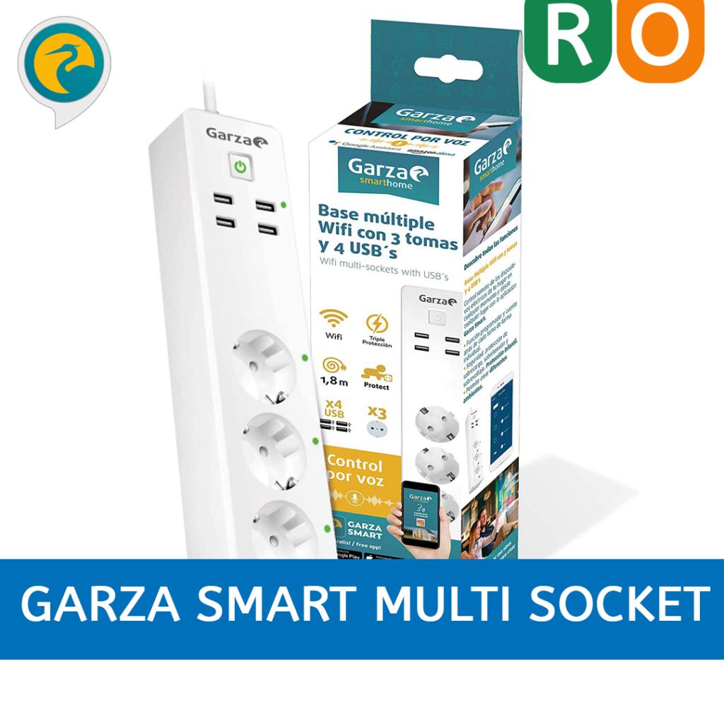 ilustrar el enlace al análisis del regleta inteligente Garza Smart Multi socket