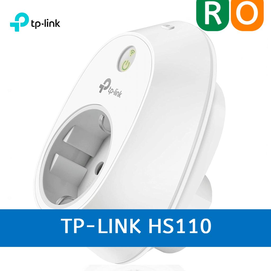 ilustrar el enlace al análisis del enchufe inteligente TP-LINK HS110