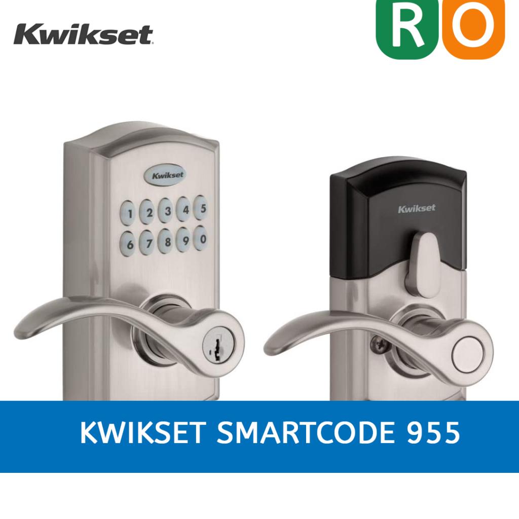 la fotografía ilustra la cerradura inteligente KWIKSET SMARTCODE 955