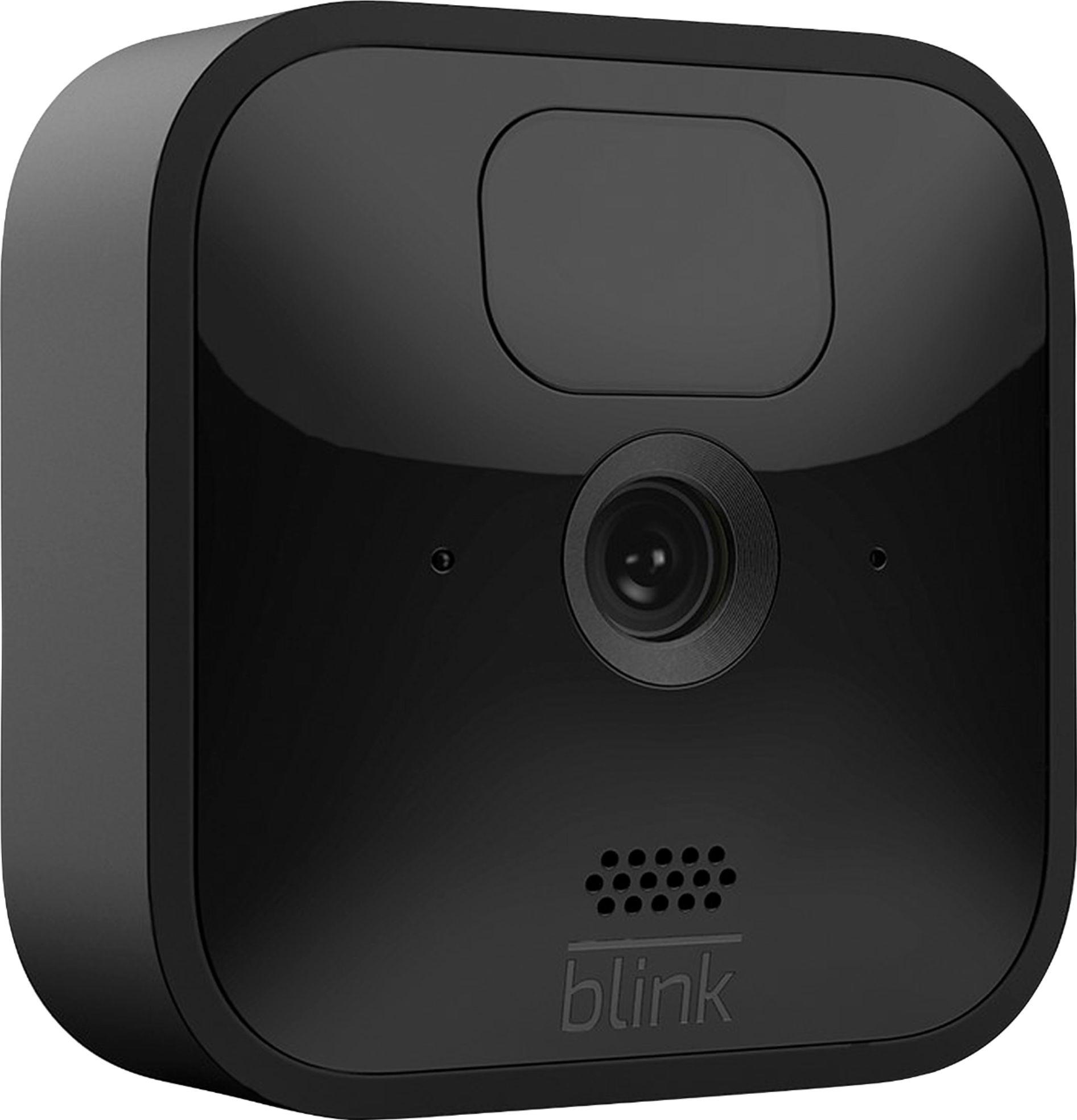 la fotografía ilustra una cámara de seguridad blink outdoor