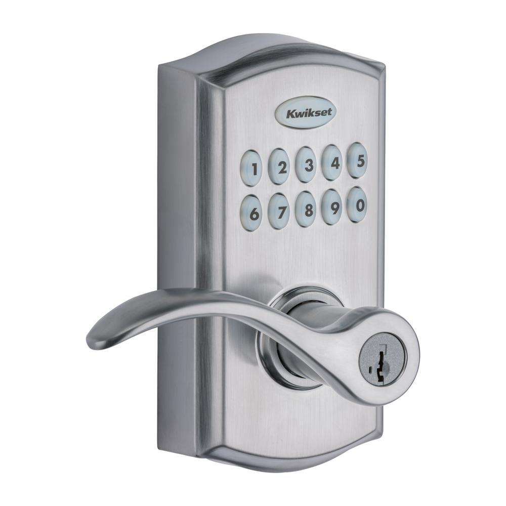 la imagen ilustra la cerradura inteligente kwikset smartcode 955