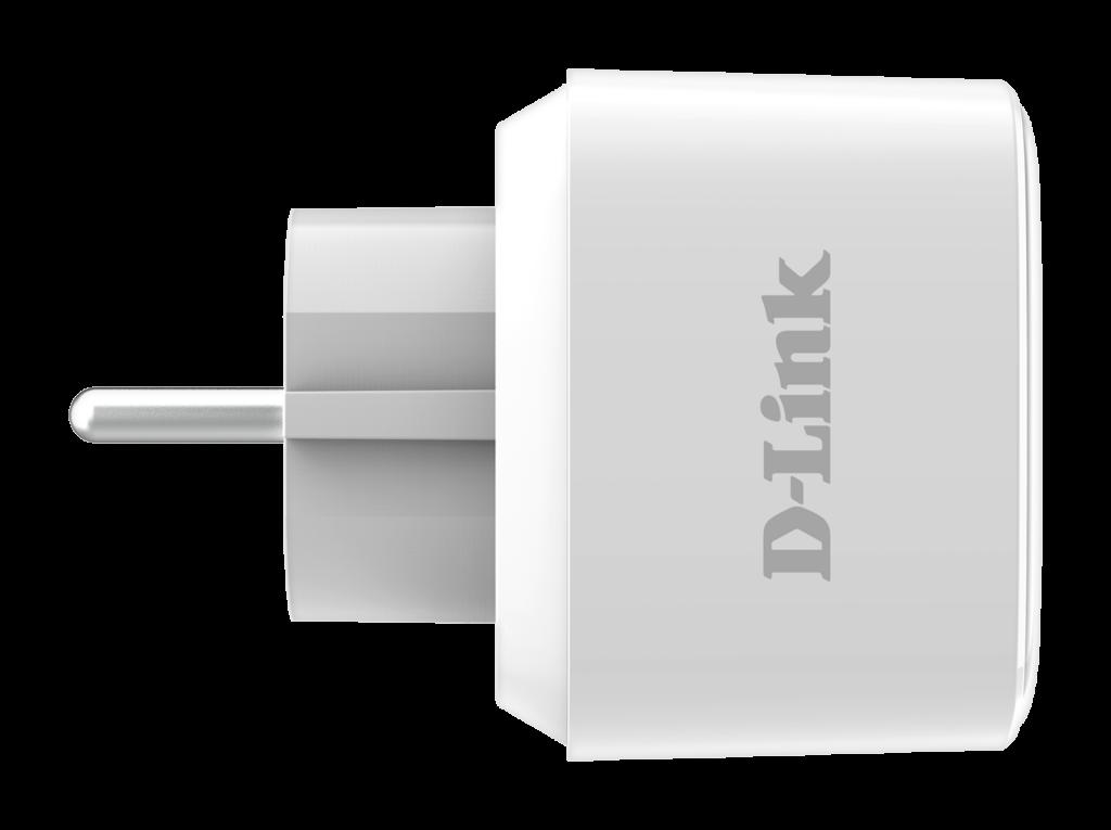 Vista lateral del enchufe inteligente D-Link DSP-W118