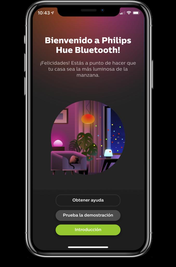 app philips hue bluetooth